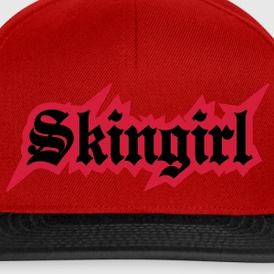 2 colors - Skingirl My Way of Life Skingirls Bootgirls Rudegirls Skinheads Oi! Tee shirts - Casquette snapback