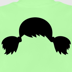Pigtails hair style Kids' Tops - Baby T-Shirt