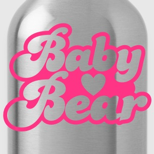 BABY bear cute family group  T-Shirts - Water Bottle