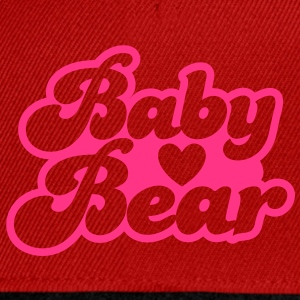BABY bear cute family group  T-Shirts - Snapback Cap