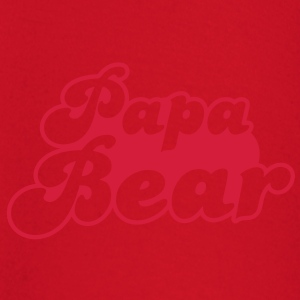 PAPA bear cute family group   T-Shirts - Baby Long Sleeve T-Shirt