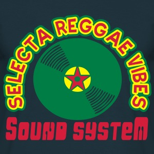 selecta reggae vibes sound system Sweaters - Mannen T-shirt