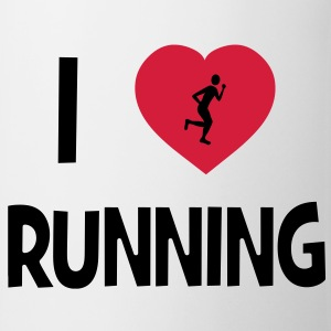 I Love Running Tee shirts Enfants - Tasse