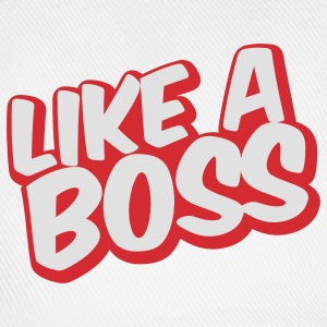 Like a Boss Text Sweat-shirts - Casquette classique