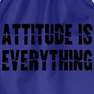 Attitude Is Everything Barnegensere - Gymbag