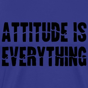 Attitude Is Everything Kinder Pullover - Männer Premium T-Shirt