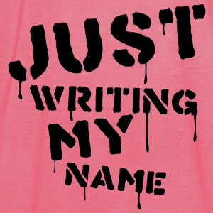 just_writing_my_name Bags  - Women's Tank Top by Bella
