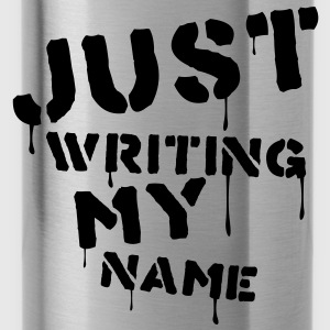 just_writing_my_name Bags  - Water Bottle