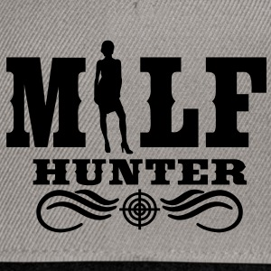 Milf Hunter Sweaters - Snapback cap