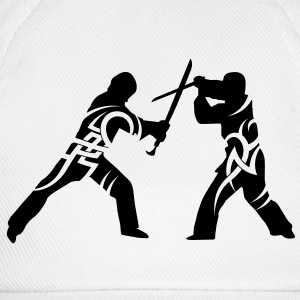 Sword fight tribal Mugs  - Baseball Cap