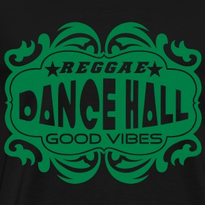 reggae dance hall good vibes Sweatshirts - Herre premium T-shirt