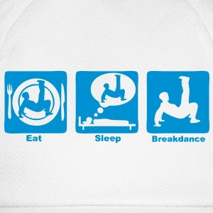 breakdance2 eat sleep play Tee shirts manches longues - Casquette classique