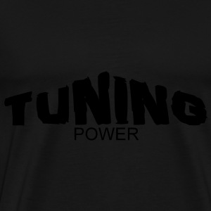 tuning power Tassen - Mannen Premium T-shirt