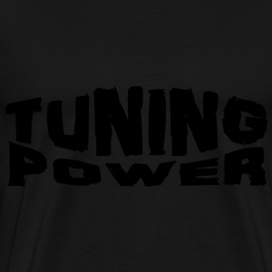 tuning power Tröjor - Premium-T-shirt herr