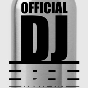 official_dj T-shirts - Vattenflaska