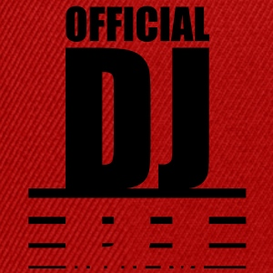 official_dj T-shirts - Snapback cap