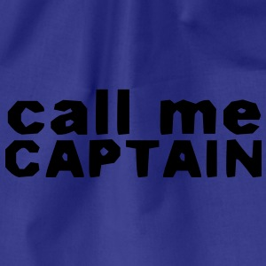 Captain Cap - Drawstring Bag