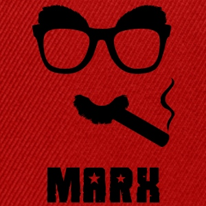 Marx (Groucho) Tee shirts - Casquette snapback