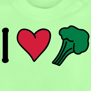 broccoli_love Kinder Pullover - Baby T-Shirt