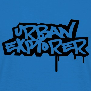 Urban Explorer  - 1color - Men's T-Shirt