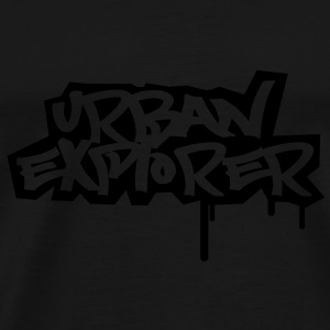 Urban Explorer  - 1color - Herre premium T-shirt