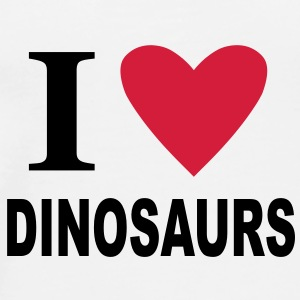 I love Dinosaurs Mugs  - Men's Premium T-Shirt