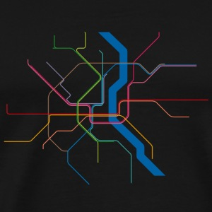 Subway Cologne - Männer Premium T-Shirt