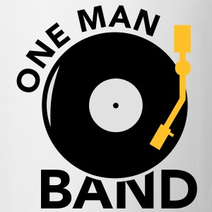 One  Man Band Turntable Pullover - Tasse