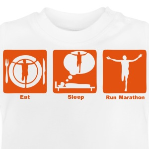 marathon1 eat sleep play Sweats Enfants - T-shirt Bébé
