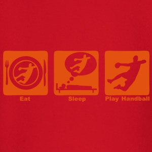 handball eat sleep play2 Sweats Enfants - T-shirt manches longues Bébé
