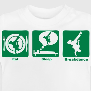 breakdance1 eat sleep play Sweats Enfants - T-shirt Bébé