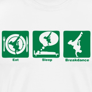 breakdance1 eat sleep play Sweats Enfants - T-shirt Premium Homme