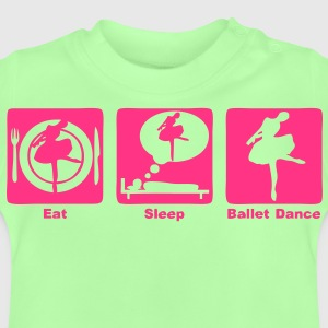 ballet dance eat sleep play2 Sweats Enfants - T-shirt Bébé