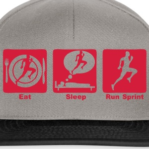 sprint athletisme eat sleep play Sacs - Casquette snapback