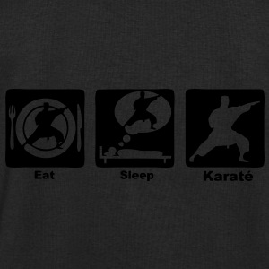 karate eat sleep play Sacs - Sweat-shirt Homme Stanley & Stella
