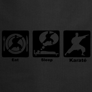 karate eat sleep play Sacs - Tablier de cuisine