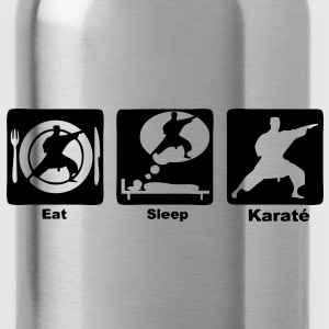 karate eat sleep play Sacs - Gourde