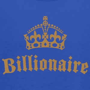 Billionaire T-Shirts - Women's Tank Top by Bella