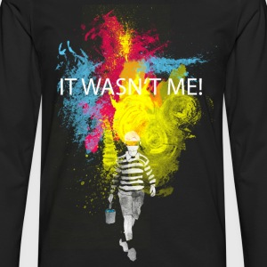 it wasn't me! T-shirts - Långärmad premium-T-shirt herr