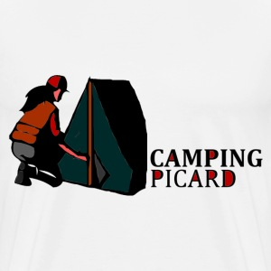 camping picard Sacs - T-shirt Premium Homme