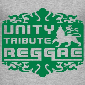 unity tribute reggae Gensere - Slim Fit T-skjorte for menn