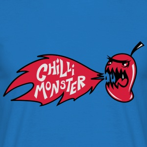 Chilli Monster  Aprons - Men's T-Shirt