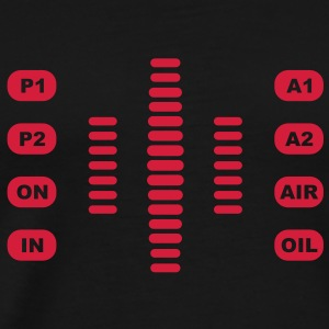 Knight Rider car panel kitt - Men's Premium T-Shirt