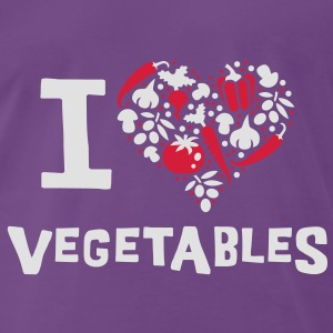 I love vegetables Pullover - Männer Premium T-Shirt