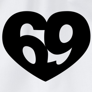 69 Heart | 69 Herz T-Shirts - Drawstring Bag