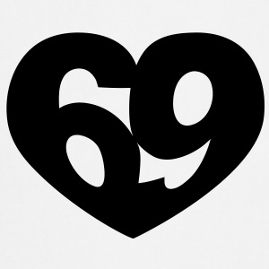 69 Heart | 69 Herz T-Shirts - Cooking Apron