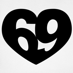 69 Heart | 69 Herz T-Shirts - Baseball Cap
