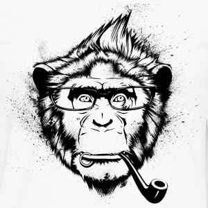 Ironic Chimp Shirt - Men's Premium Longsleeve Shirt