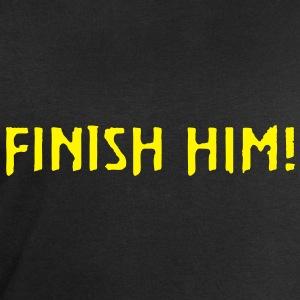 Mortal Kombat FINISH HIM! (SNES Console Version) - Men's Sweatshirt by Stanley & Stella