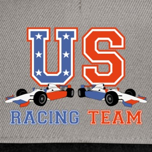 racing car us 2 Sweat-shirts - Casquette snapback